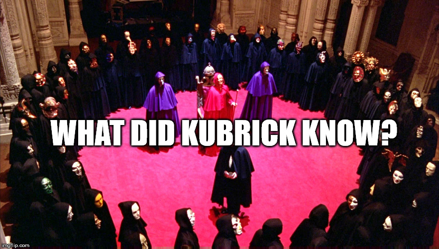 "Did Stanley Kubrick try expose elite pedophile and human trafficking rings in the movie ""Eyes Wide Shut""? 