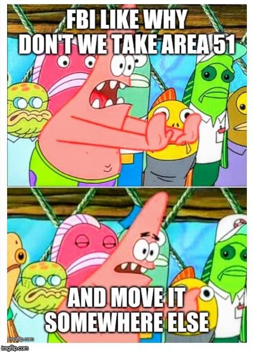 The only logical option they have now | image tagged in patrick star | made w/ Imgflip meme maker