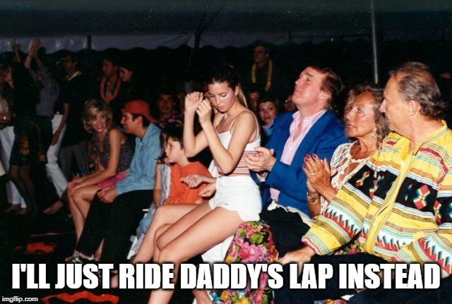 I'LL JUST RIDE DADDY'S LAP INSTEAD | made w/ Imgflip meme maker