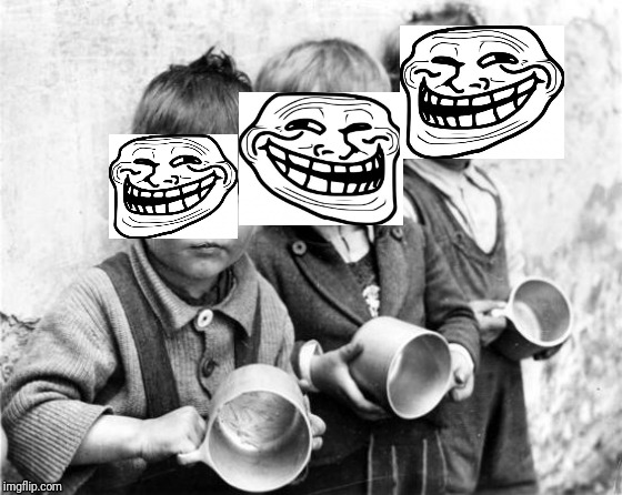 hungry kids | image tagged in hungry kids | made w/ Imgflip meme maker