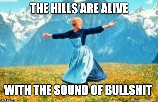 Look At All These Meme | THE HILLS ARE ALIVE WITH THE SOUND OF BULLSHIT | image tagged in memes,look at all these | made w/ Imgflip meme maker