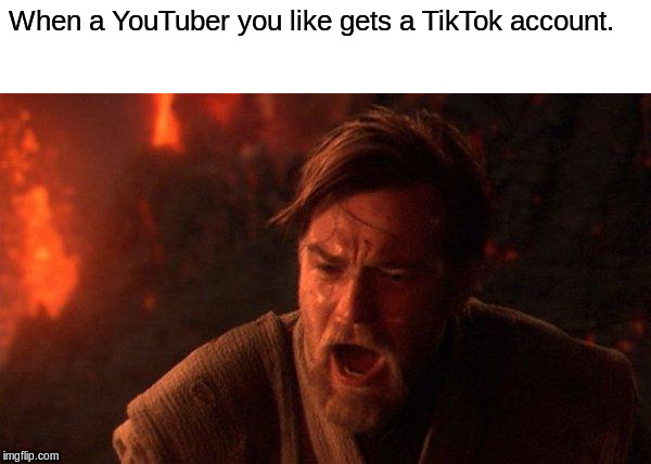 """YOU WERE THE CHOSEN ONE!!!"" 