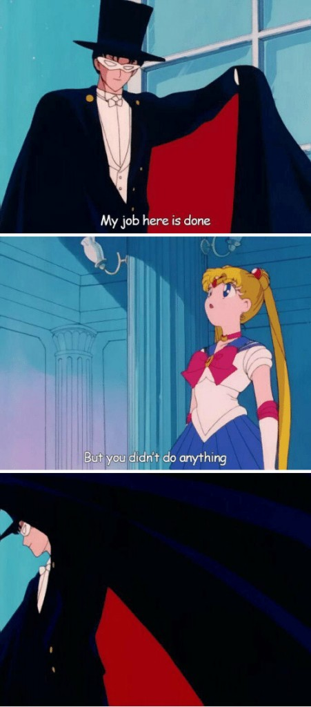 Sailor moon Meme Template