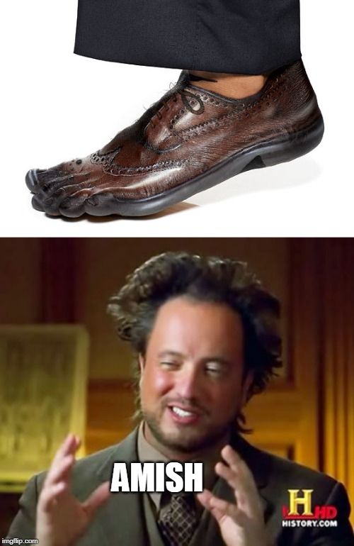 AMISH | AMISH | image tagged in memes,ancient aliens,amish | made w/ Imgflip meme maker