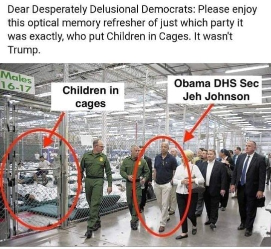 Dear Desperately Delusional Democrats | image tagged in crying democrats,children in cages,delusional democrats,liberalism,mental illness,liberal hypocrisy | made w/ Imgflip meme maker