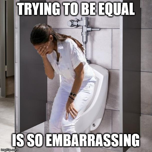 trying to be equal | TRYING TO BE EQUAL IS SO EMBARRASSING | image tagged in trying to be equal | made w/ Imgflip meme maker