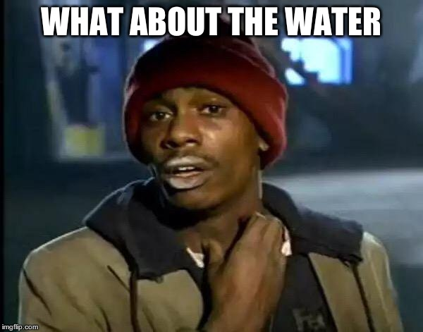 Y'all Got Any More Of That Meme | WHAT ABOUT THE WATER | image tagged in memes,y'all got any more of that | made w/ Imgflip meme maker