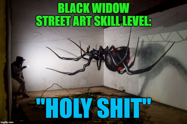 """Black Widow"" by Odeith 