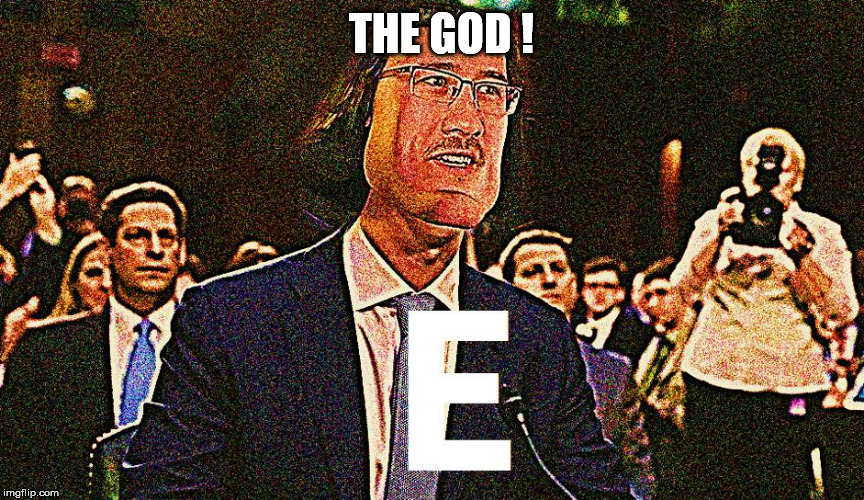 THE GOD ! | image tagged in funny memes,markiplier,god | made w/ Imgflip meme maker