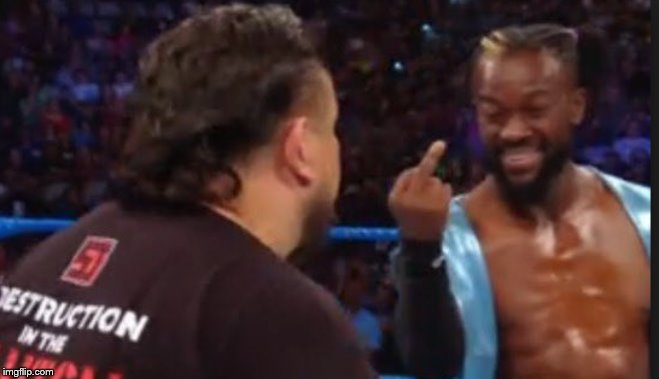Kofi middle finger | image tagged in kofi middle finger | made w/ Imgflip meme maker