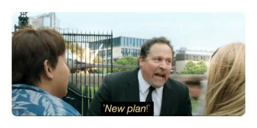 Image result for new plan meme