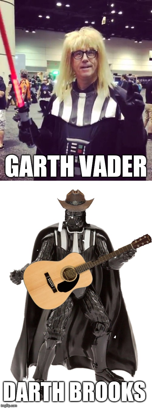 Playing a residency at Star Wars Disney World Oct 8 - Nov 17 | GARTH VADER DARTH BROOKS | image tagged in memes,darth vader,garth brooks,flarp,dark side | made w/ Imgflip meme maker