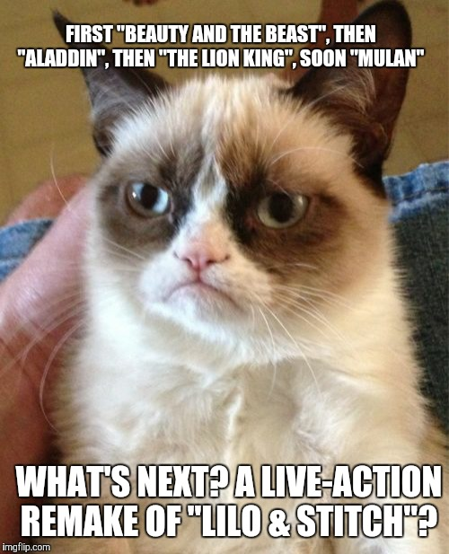 "Or ""The Emperor's New Groove""? 