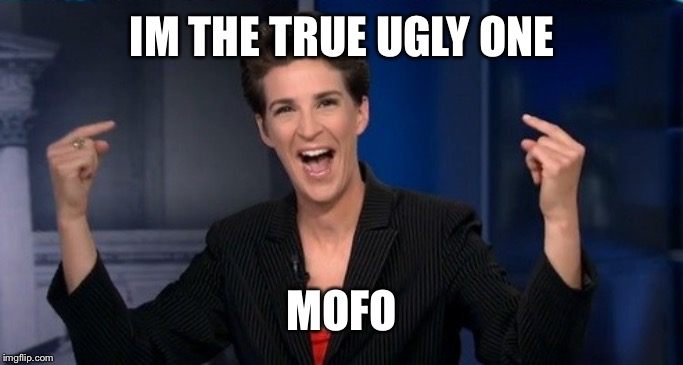 Stupid cow | IM THE TRUE UGLY ONE MOFO | image tagged in stupid cow | made w/ Imgflip meme maker