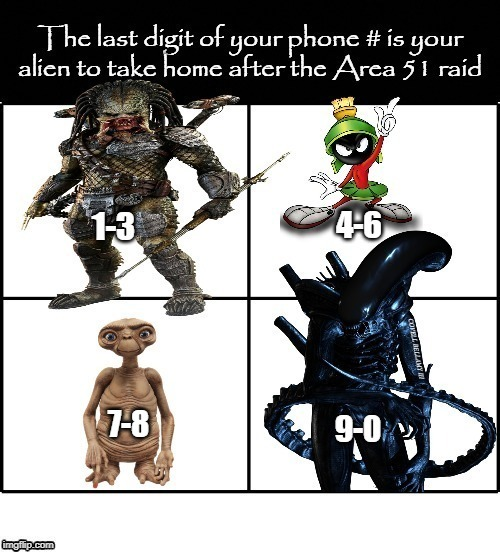 COVELL BELLAMY III | image tagged in area 51 raid take home alien | made w/ Imgflip meme maker