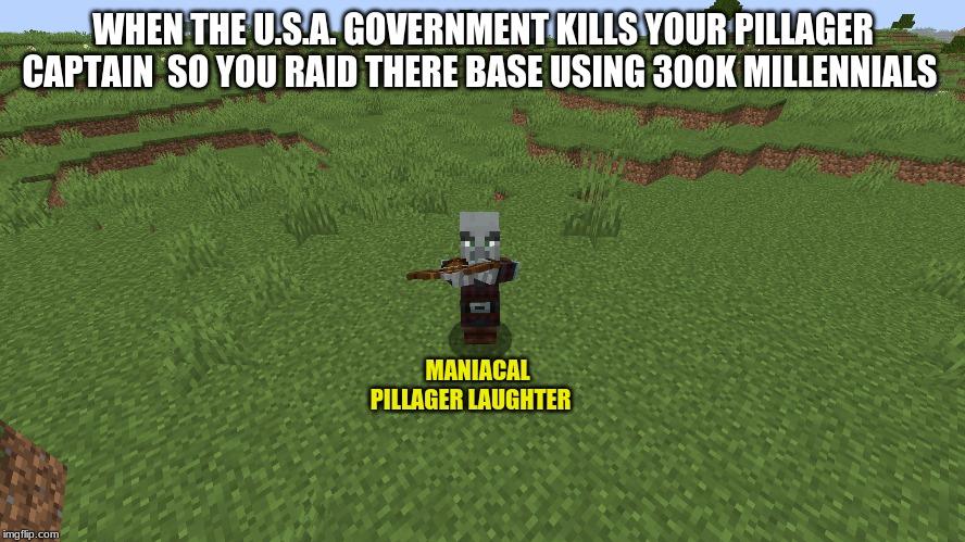 kill pillager captain