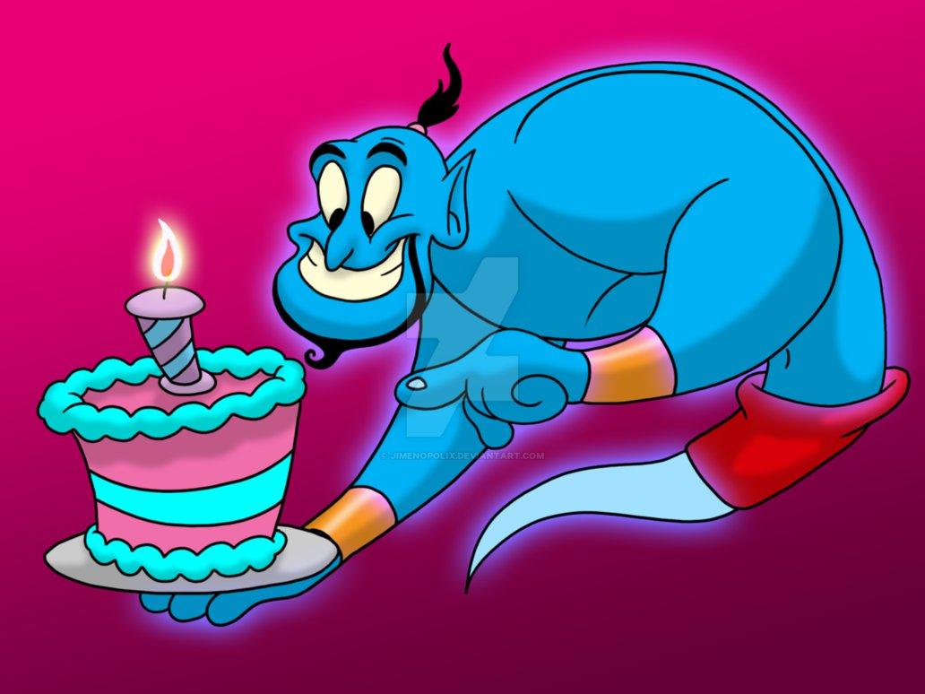 Aladdin Genius happy birthday Meme Generator - Imgflip