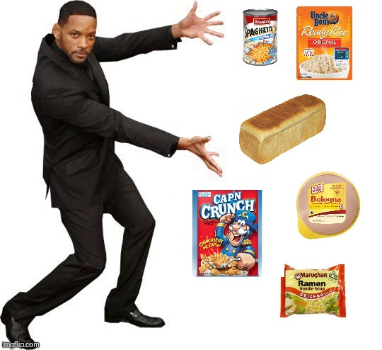 There is nothing to eat in the house | image tagged in tada will smith,memes | made w/ Imgflip meme maker