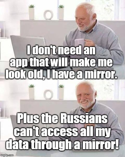"Russians to Faceapp users: ""All your data are belong to us!"" 