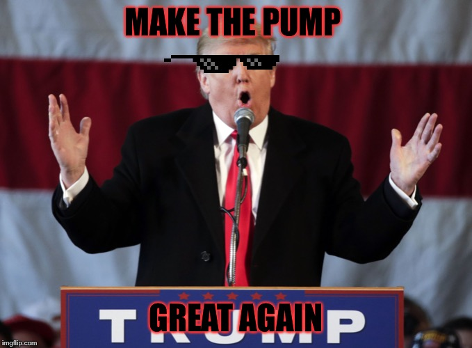 Make america great again | MAKE THE PUMP GREAT AGAIN | image tagged in make america great again | made w/ Imgflip meme maker