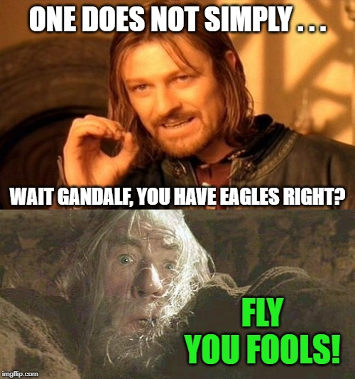 View Gandalf Fly You Fools Gif JPG