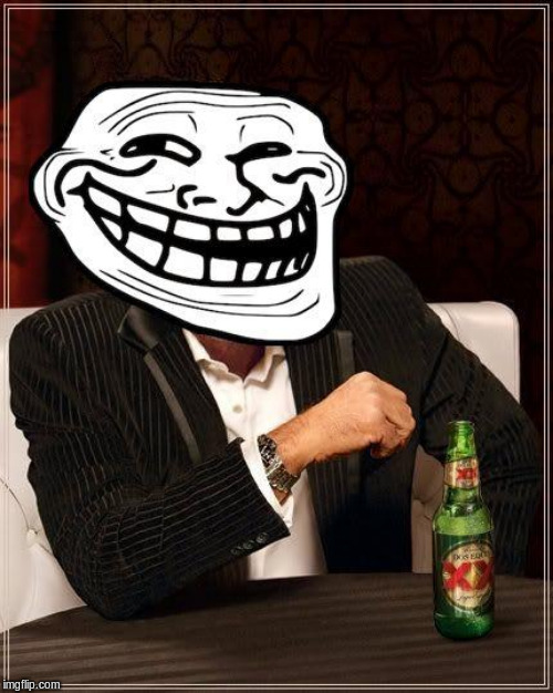 trollface interesting man | image tagged in trollface interesting man | made w/ Imgflip meme maker