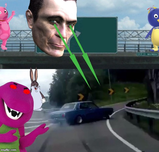 Left Exit 12 Off Ramp Meme | image tagged in memes,left exit 12 off ramp | made w/ Imgflip meme maker