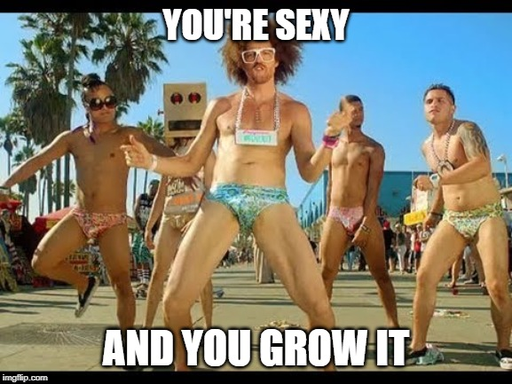 YOU'RE SEXY AND YOU GROW IT | made w/ Imgflip meme maker