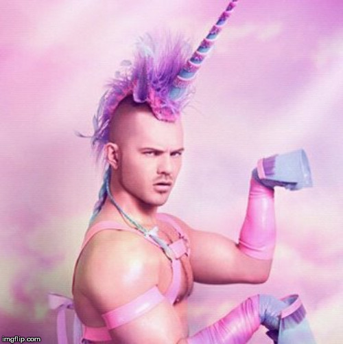 Unicorn MAN Meme | image tagged in memes,unicorn man | made w/ Imgflip meme maker