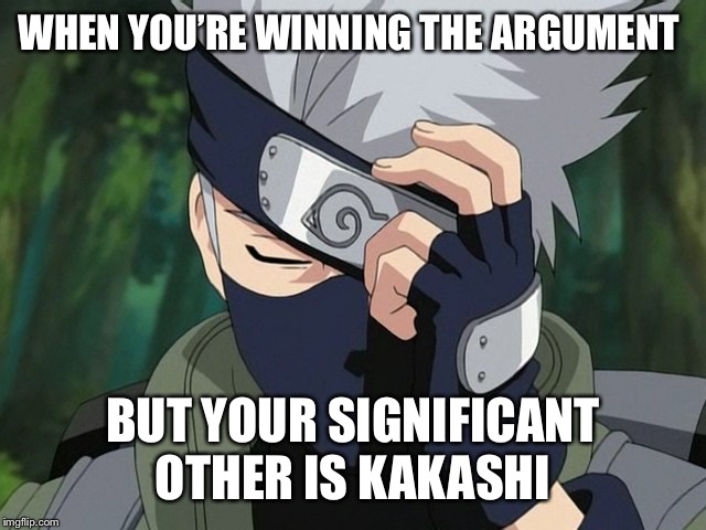 Hatake Kakashi Memes Imgflip