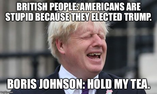 Image result for boris johnson brexit memes""