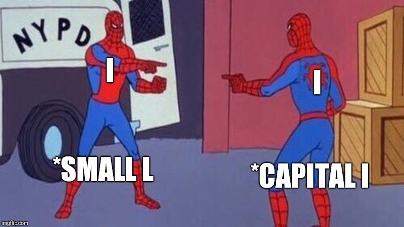 "You and ""I"" 