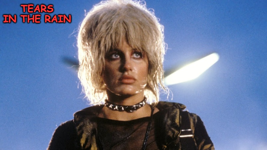 Pris without Roy changed cinematic SIFI forever. | TEARS IN THE RAIN | made w/ Imgflip meme maker