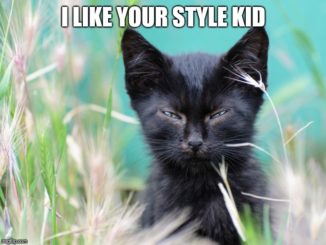 I LIKE YOUR STYLE KID | made w/ Imgflip meme maker