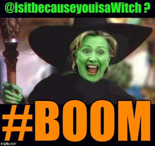 #HALLOWEEN | @isitbecauseyouisaWitch ? #BOOM | image tagged in the great awakening,boom,sonic boom,child abuse,human rights,hillary clinton | made w/ Imgflip meme maker