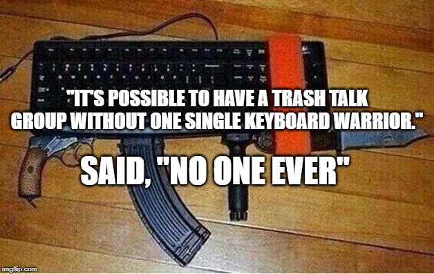 relax keyboard warrior Memes & GIFs - Imgflip