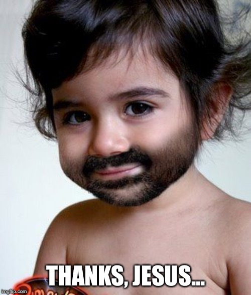 THANKS, JESUS... | made w/ Imgflip meme maker