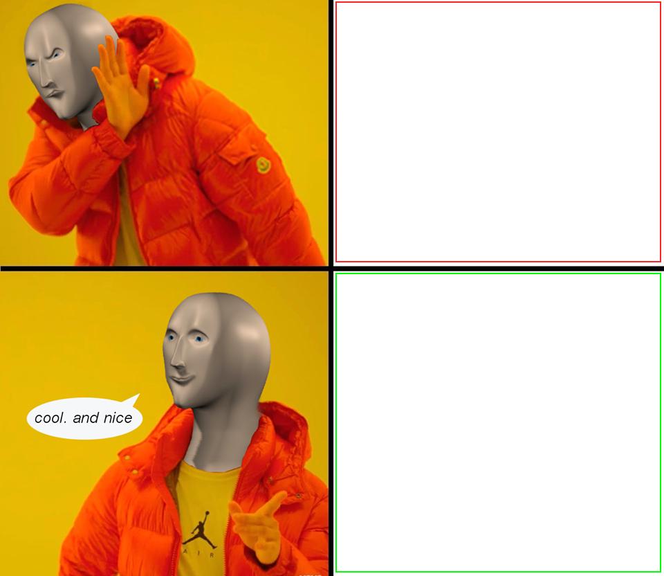 Meme Man Blank Template Imgflip