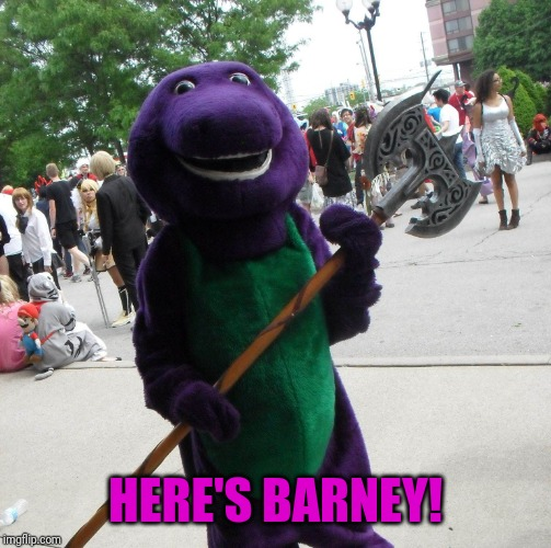 The Shining Barney Edition Imgflip
