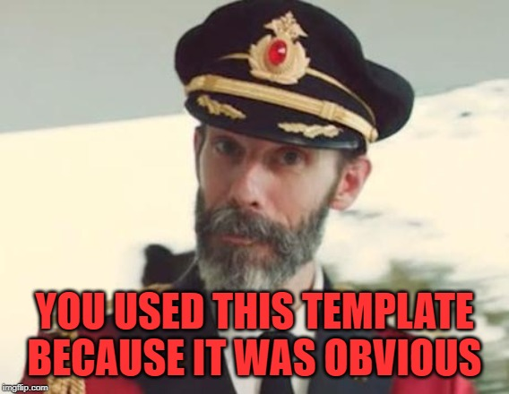 Captain Obvious | YOU USED THIS TEMPLATE BECAUSE IT WAS OBVIOUS | image tagged in captain obvious | made w/ Imgflip meme maker