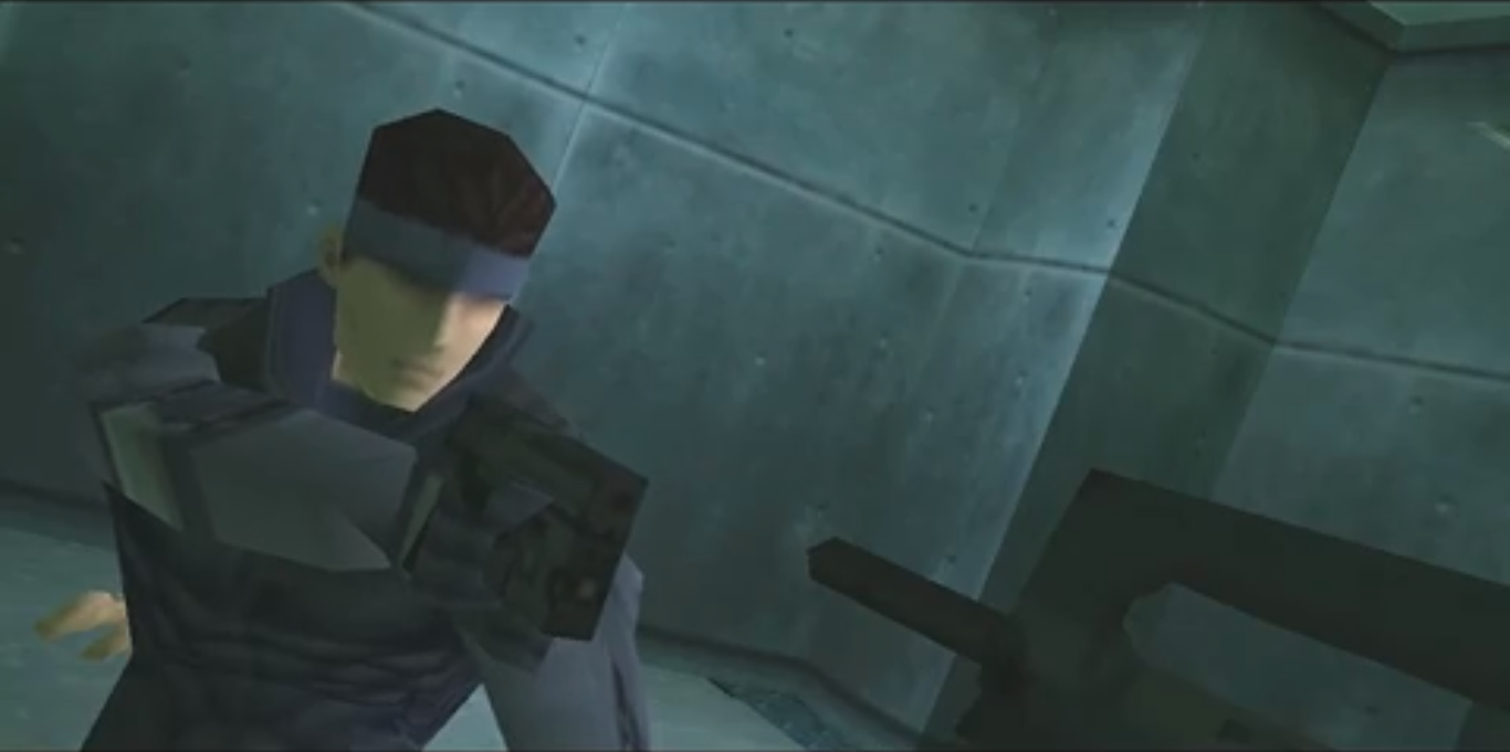 Solid Snake Blank Template Imgflip