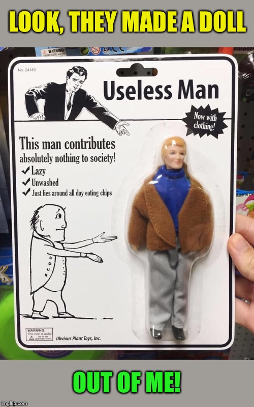 Inaction Figure | LOOK, THEY MADE A DOLL OUT OF ME! | image tagged in funny,fake,products,burn,myself,funny memes | made w/ Imgflip meme maker