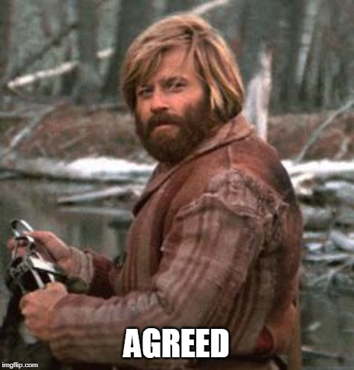 Redford nod of approval | AGREED | image tagged in redford nod of approval | made w/ Imgflip meme maker