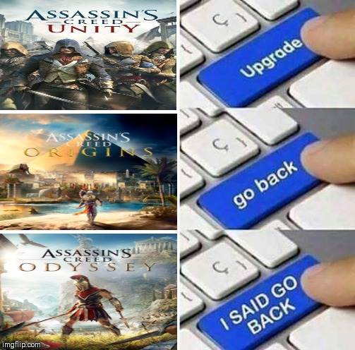 Upgrade go back I said go back! | image tagged in upgrade go back i said go back | made w/ Imgflip meme maker