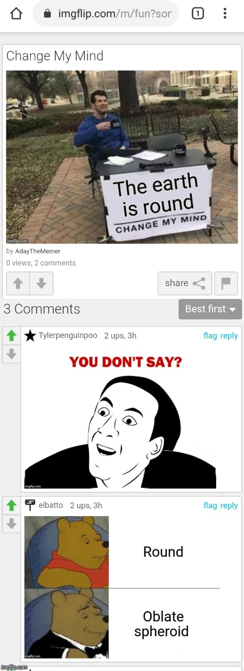 Imgflip is broken, because these aren't my comments. They actually commented on my image without viewing it. | image tagged in memes,broken | made w/ Imgflip meme maker