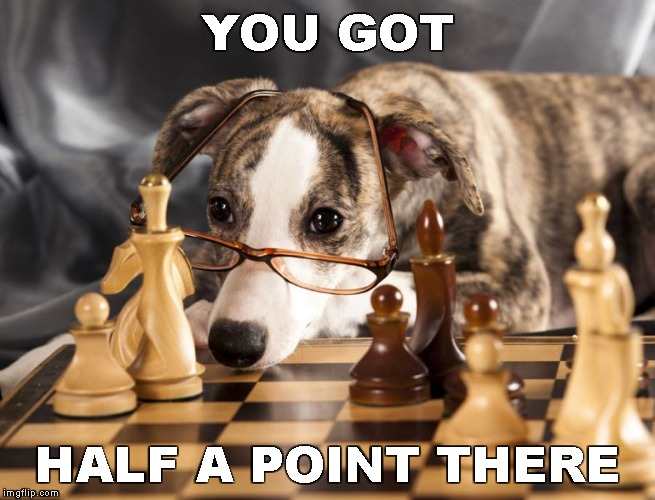 YOU GOT HALF A POINT THERE | made w/ Imgflip meme maker