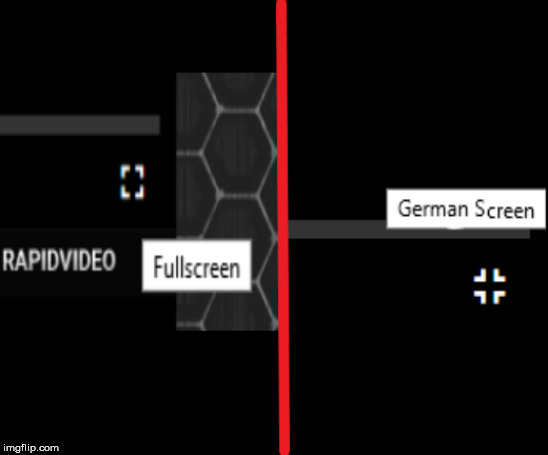 German Screen | image tagged in humor,germany | made w/ Imgflip meme maker