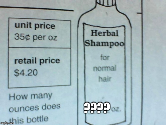"""Herbal Shampoo"" 