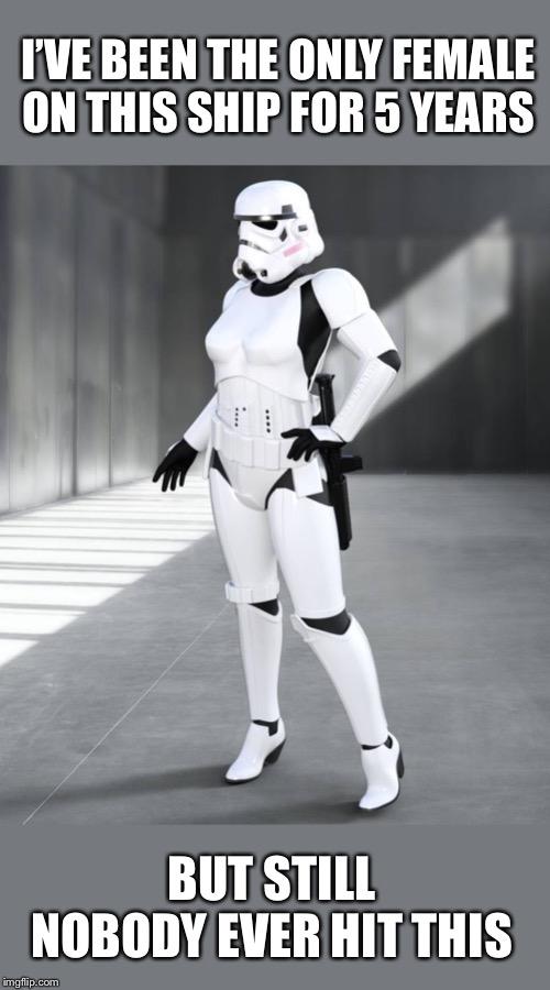 Female Stormtrooper Imgflip