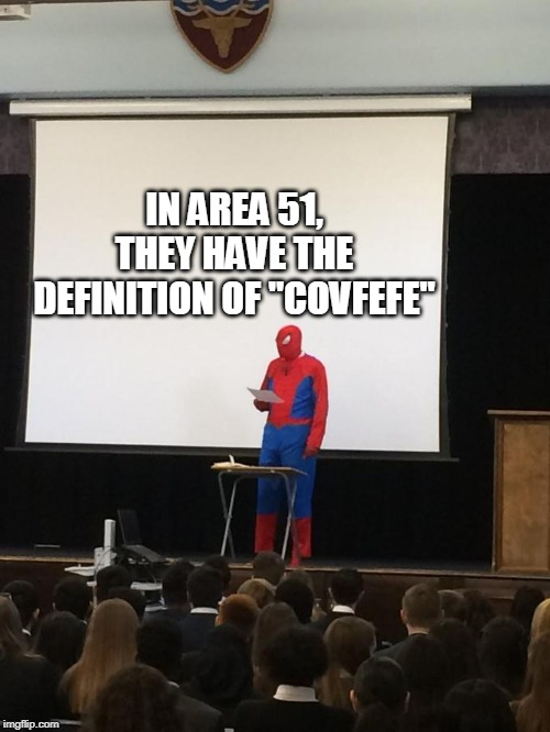 "The REAL reason why we need to storm it! | IN AREA 51, THEY HAVE THE DEFINITION OF ""COVFEFE"" 